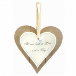 All You Need Is Love Wooden Haert