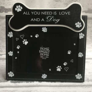 Photo Frame - All You Need Is Love And A Dog